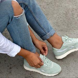e04777c94e7 Reebok Shoes | Nib Classic Nylon Cold Pastel Sneakers | Poshmark